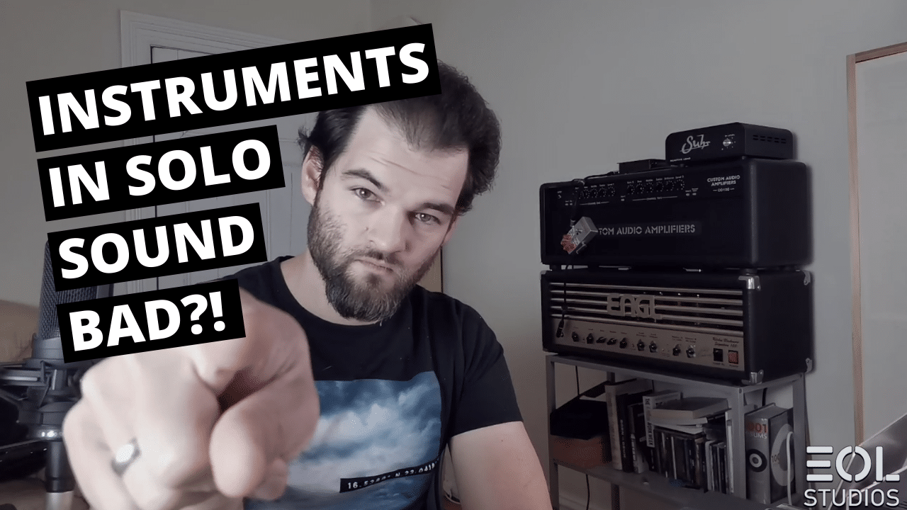 Metal Myth Busters I. Instruments in the Mix Sound Bad in Solo?! Heavy Metal Recording, Mixing Tips